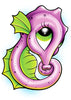 Sea Horse Temporary Tattoo - Under The Sea Tattoos