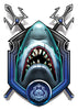 Shark Trident-Black Ops 2 Temporary Tattoo