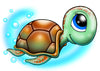Turtle Temporary Tattoo - Under The Sea Tattoos