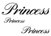 Princess Temporary Tattoo-Script Tattoos