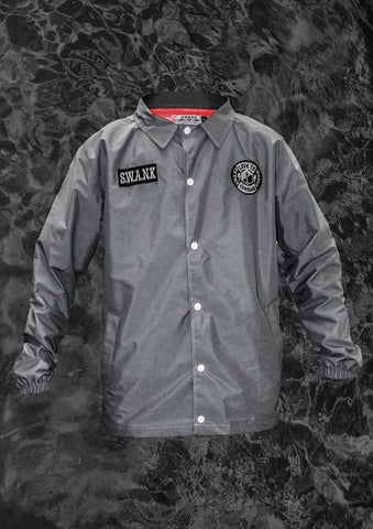 SWANK - Live To Conquer Water Resistant Coach Jacket
