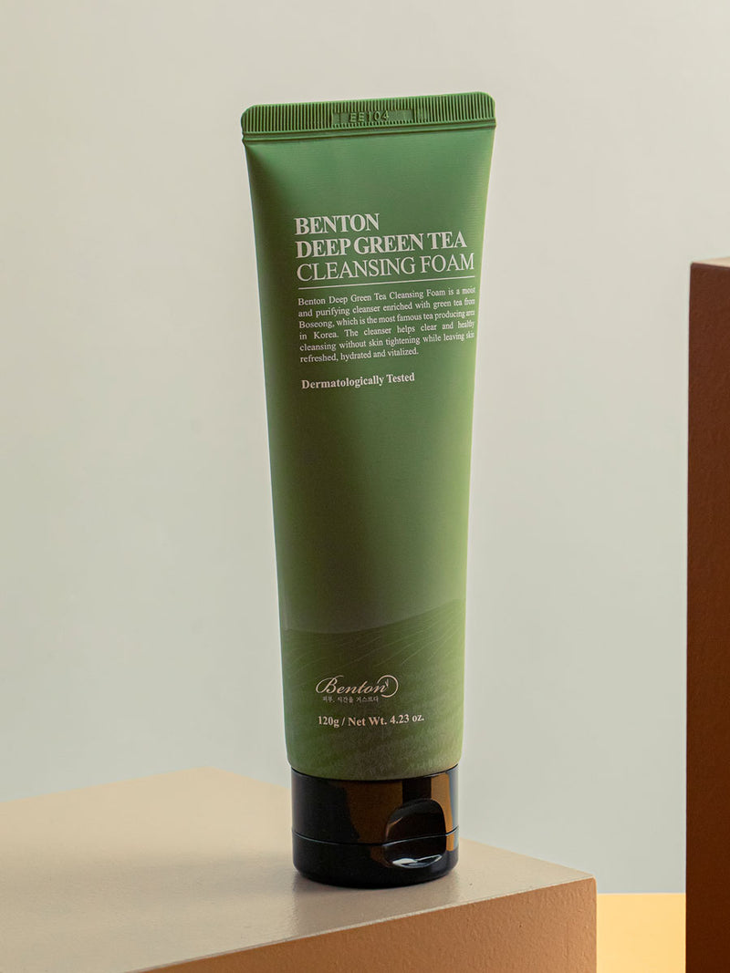 Deep Green Tea Cleansing Foam 120g - BOGO