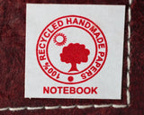 Large Handmade Recycled Notebook - Ganesh - 2