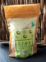 Natural Handmade Bath Soak - Lime & Coconut - 225g - MysticSoul_108
