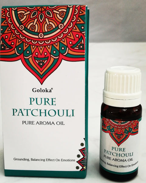 Goloka Pure Aroma Oil - Pure Patchuli - 10ml - MysticSoul_108