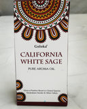 Goloka Pure Aroma Oil - California White Sage - 10ml - MysticSoul_108