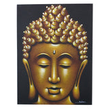 Buddha Painting - Gold Sand Finish - MysticSoul_108