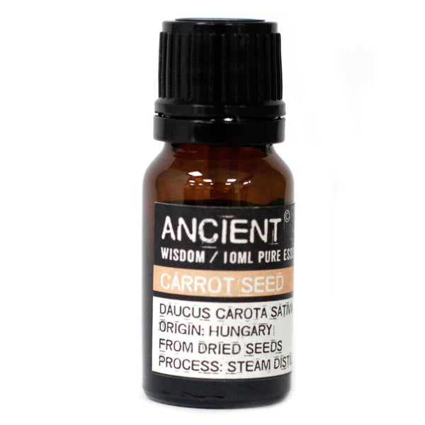 Aromatherapy Essential Oil - Carrot Seed  - 10ml - MysticSoul_108