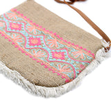 Fab Fringe Bag - Summer Pattern Embroidery - MysticSoul_108