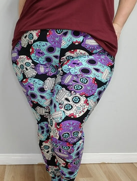 Candy Skull Joggers