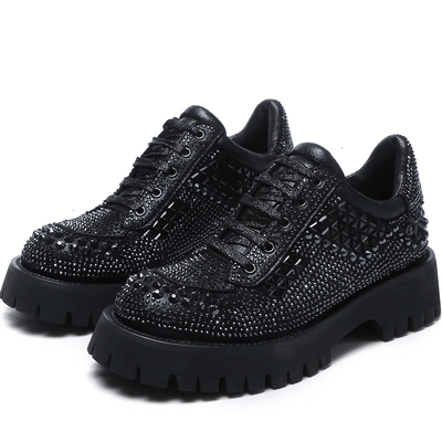 Rhinestone Casual Shoes - HeraDaphne
