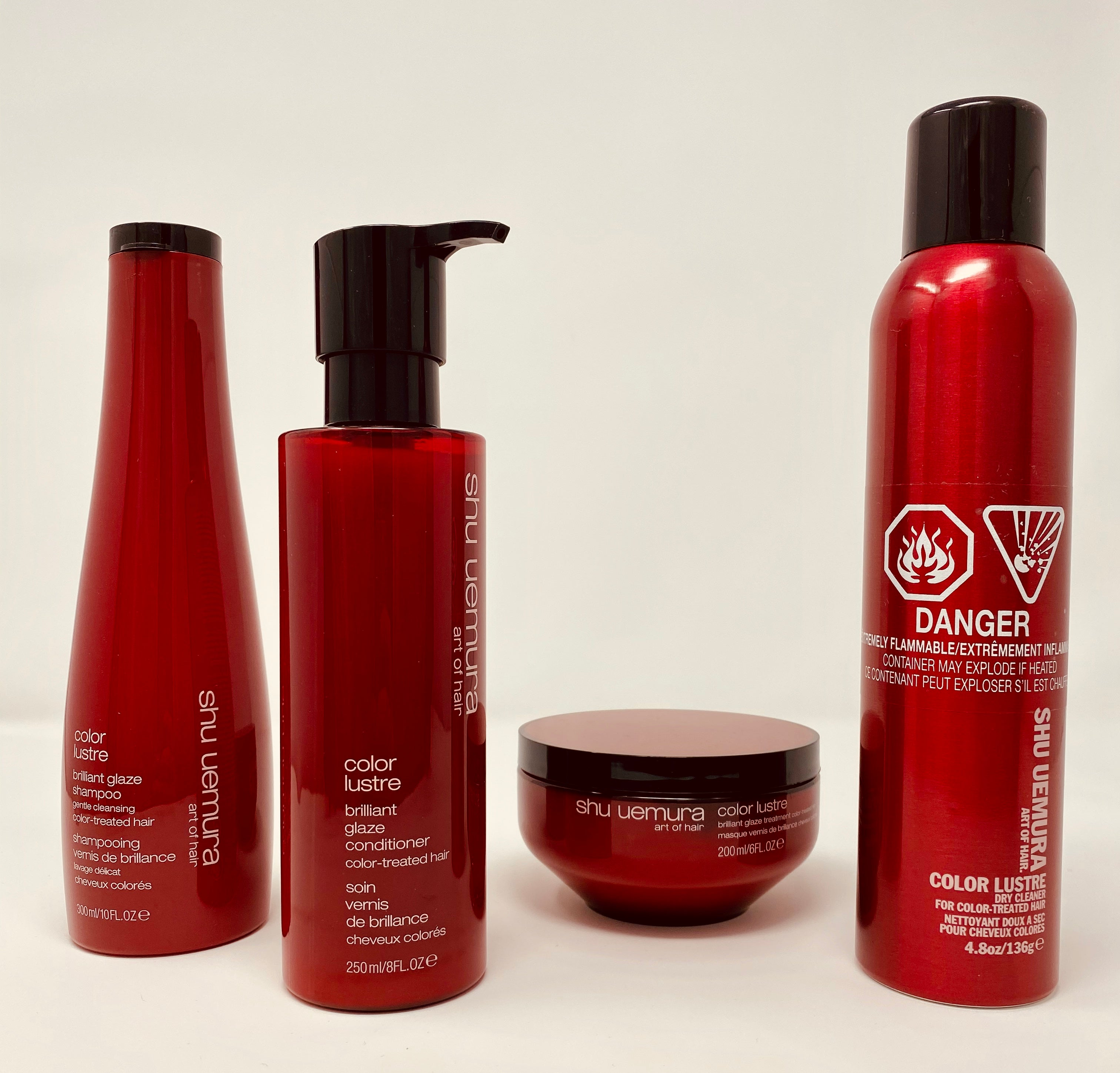 Brilliant Glaze COLOR LUSTRE Hair Care Set