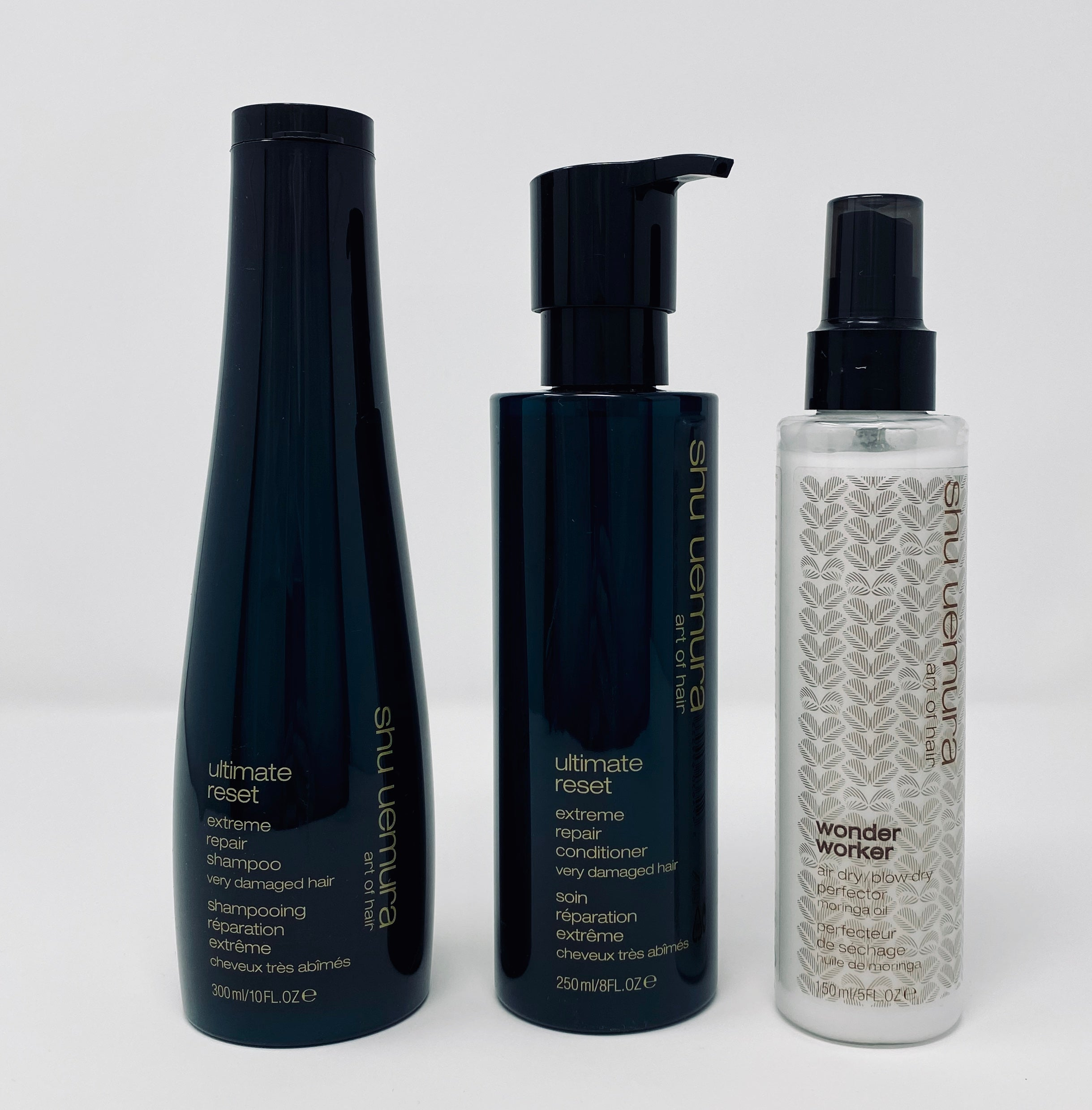 The Essential ULTIMATE RESET Hair Care set for