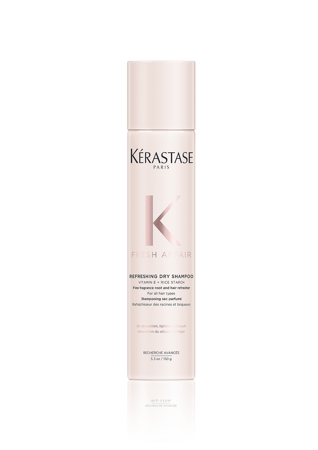 FRESH AFFAIR, Fine Fragrance Dry Shampoo 150 ml