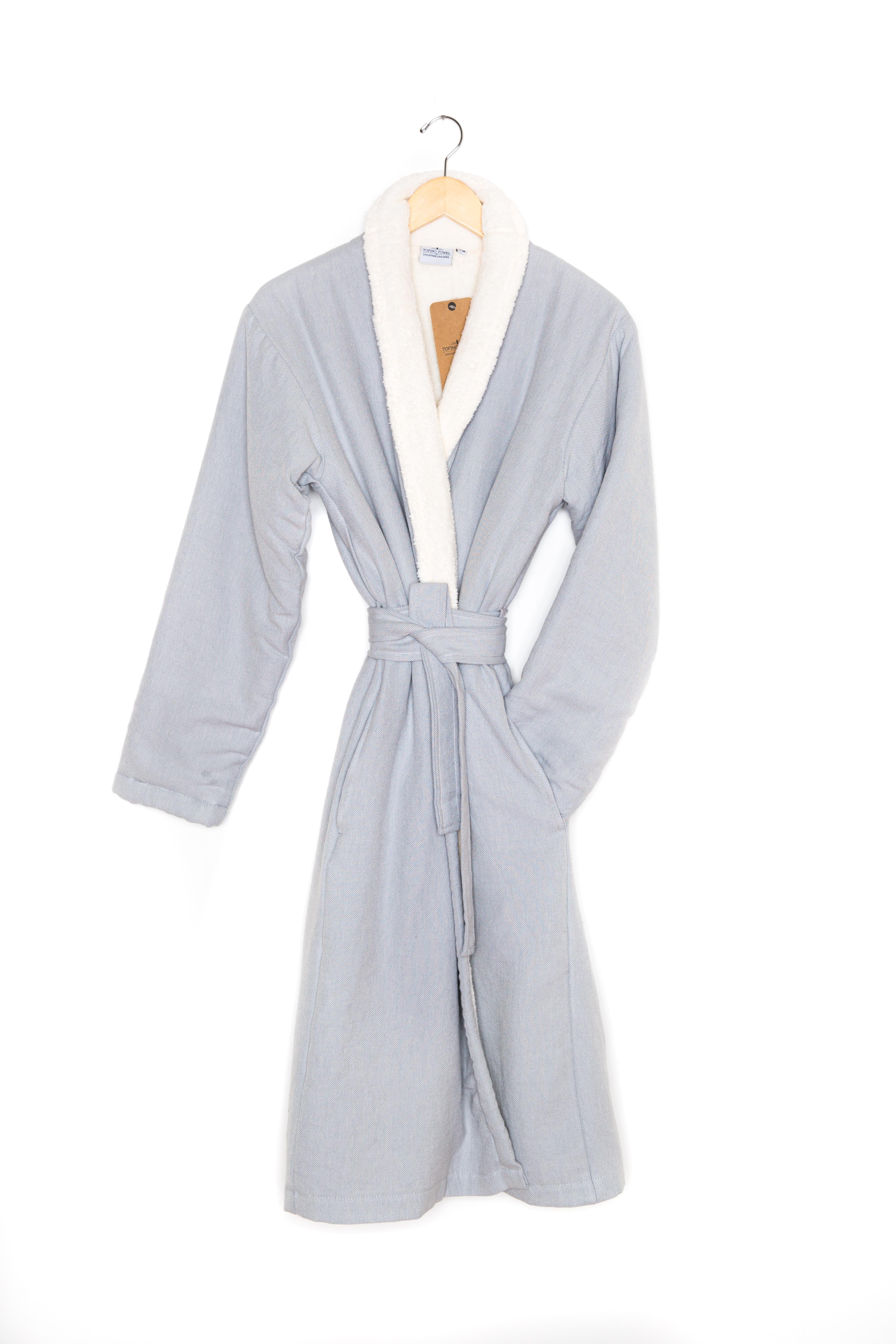 The GREY NORDIC Bath Robe