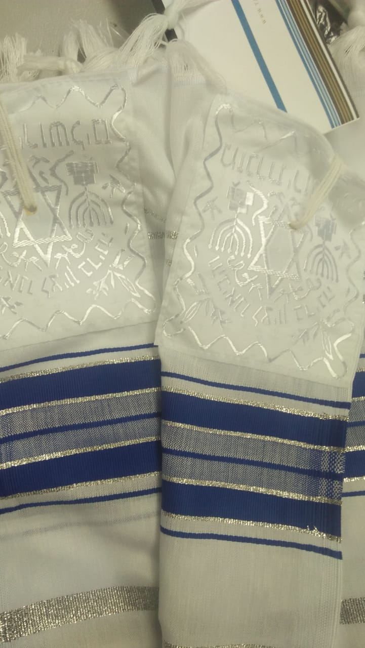 JEWISH TALLIT-  TALLIT PRAYER SHAWL