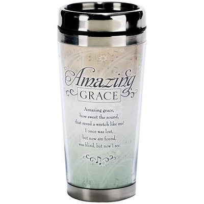TRAVEL MUG: AMAZING GRACE