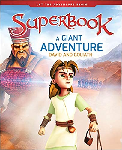 DVD SUPERBOOK- DAVID AND GOLIATH