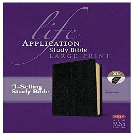 NKJV LIFE APPLICATION STUDY INDEX BIBLE BLK