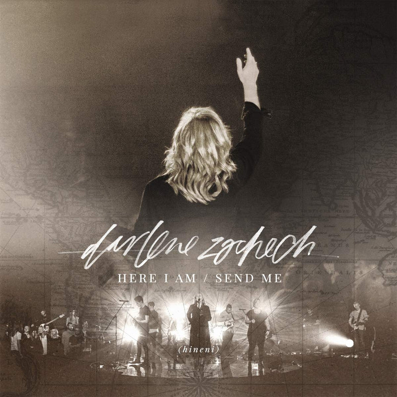 MUSIC CD\DVD DARLENE ZSCHECH-HERE IAM SEND