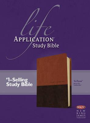 NKJV LIFE APPLICATION STUDY BIBLE BROWN/TAN INDEXED