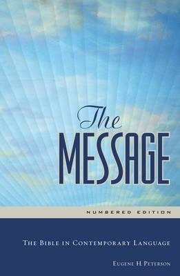THE MESSAGE BIBLE HC