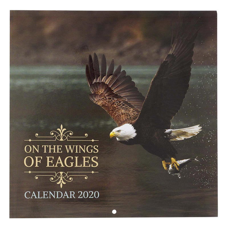 CAL195 / Calendar Large  Wings Of Eagles 2021