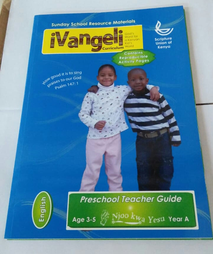 IVANGELI CURIM PACK AGE 3 TO 5