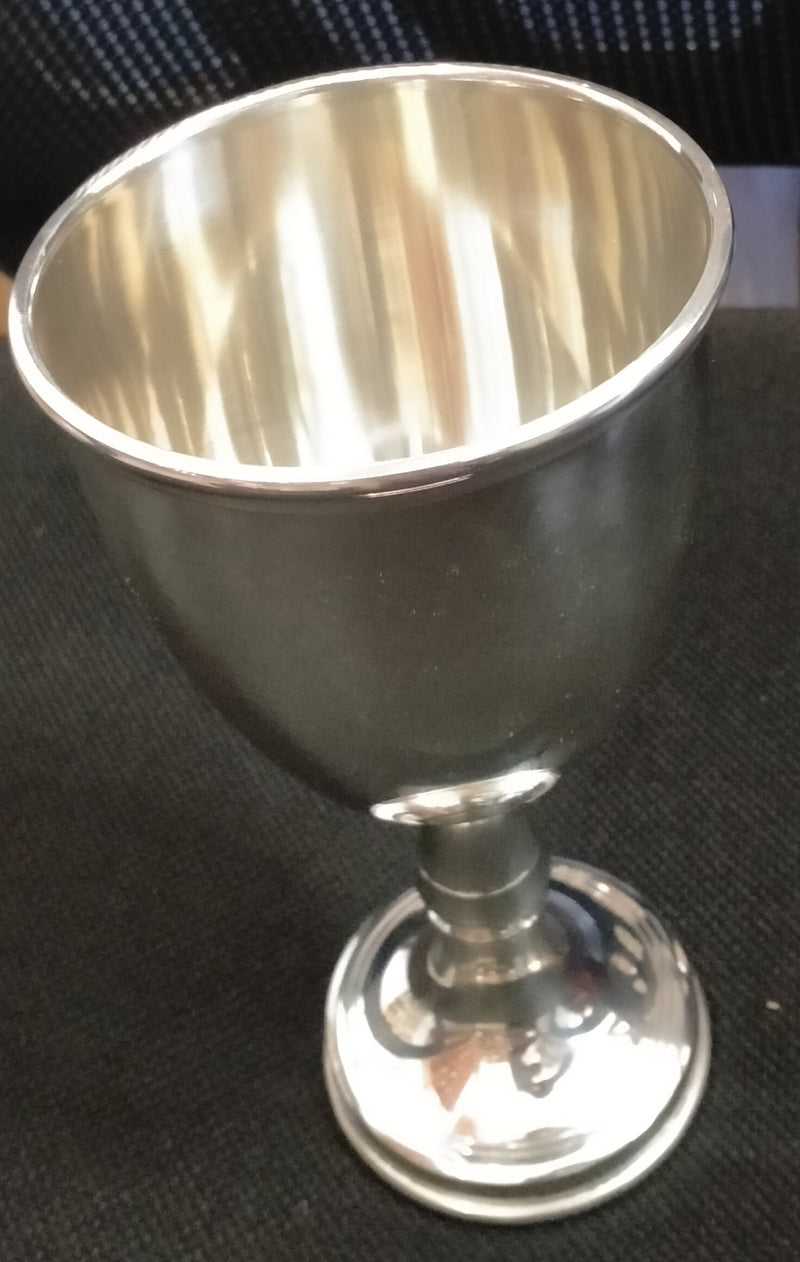 COMMUNION CHALICE SILVER- MEDIUM SIZE