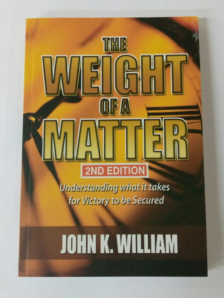 WEIGHT OF THE MATTER