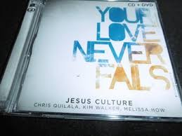 MUSIC CD- YOUR LOVE NEVER FAILS 2CD