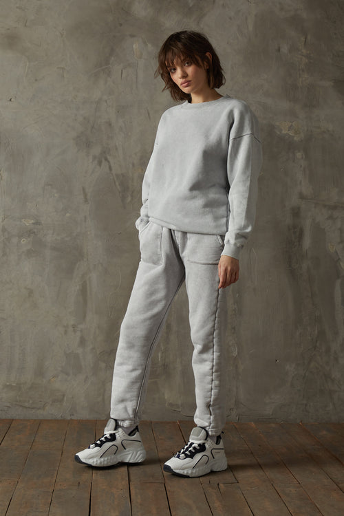 530 Washed Stone Grey Sweatshirt