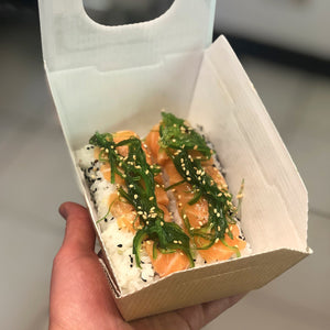 The Salmon Wakame Roll