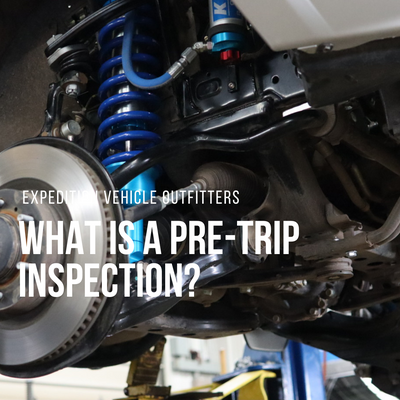 What is a pre-trip inspection?