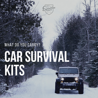 CAR SURVIVAL KIT, what to keep in your car.