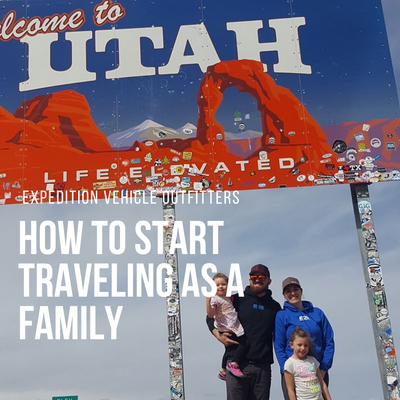 How to start traveling as a family