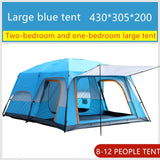 8 Person Tent by Coleman & Ozark for Outdoor Camping by Gear Shop | Tall Family Party Cabin Tent