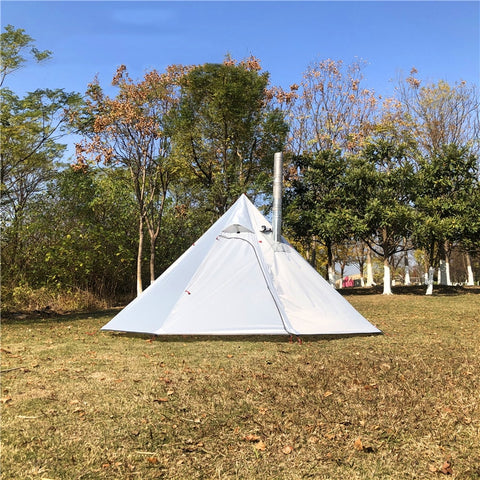 8 Person Yurt Tent by Coleman & Ozark for Outdoor Camping by Gear Shop | Stove Chimney Pyramid Tent