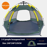 8 Person Tent by Coleman & Ozark for Outdoor Camping by Gadgets Store | Waterproof Breathable Family Tent