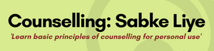 Counselling (Sabke Liye) - (November Non - Psychology Seats) Group Pack (for 4 people)