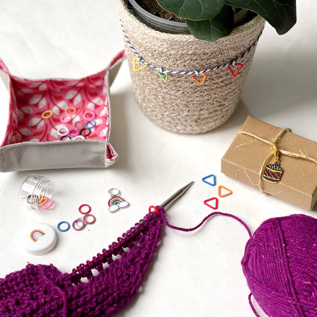5 Unexpected Ways to Use Stitch Markers