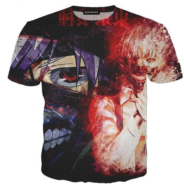 T-shirt Tokyo Ghoul<br> Double Spirit