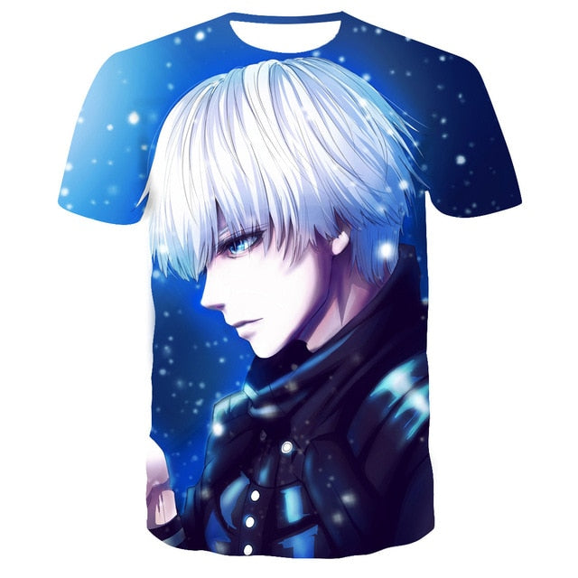 T-shirt Tokyo Ghoul<br> Anime Style