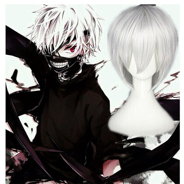 Cosplay Tokyo Ghoul<br> Perruque Haise Sasaki