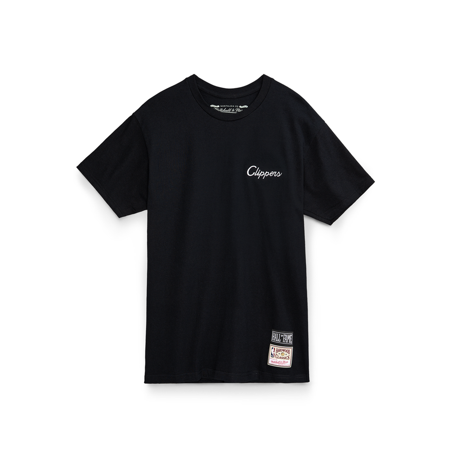 Script Tee Clippers Black