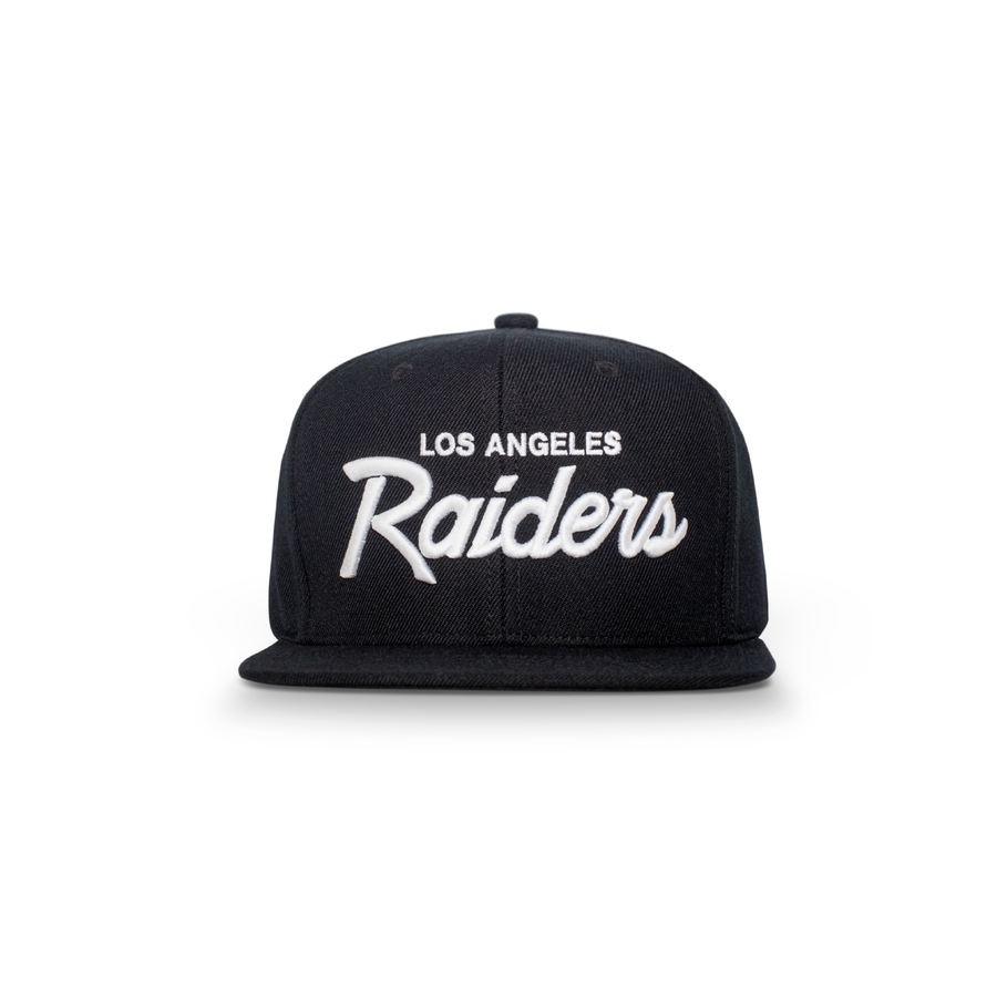 L.A. Raiders Snapback Black