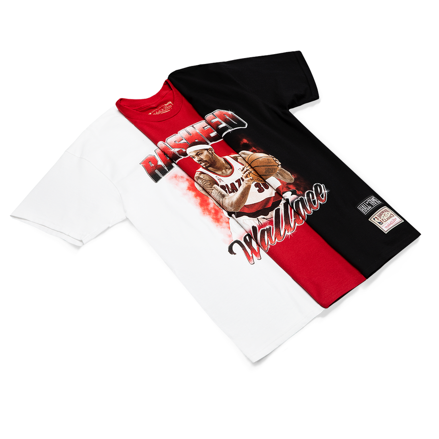Player Tee Rasheed Wallace White