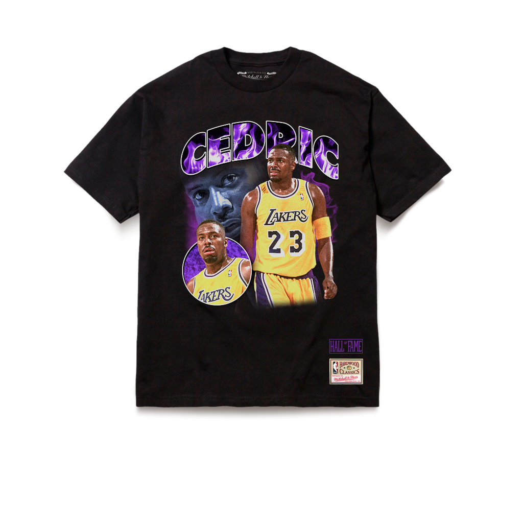 Los Angeles Lakers Tribute Cedric Ceballos T-Shirt Black