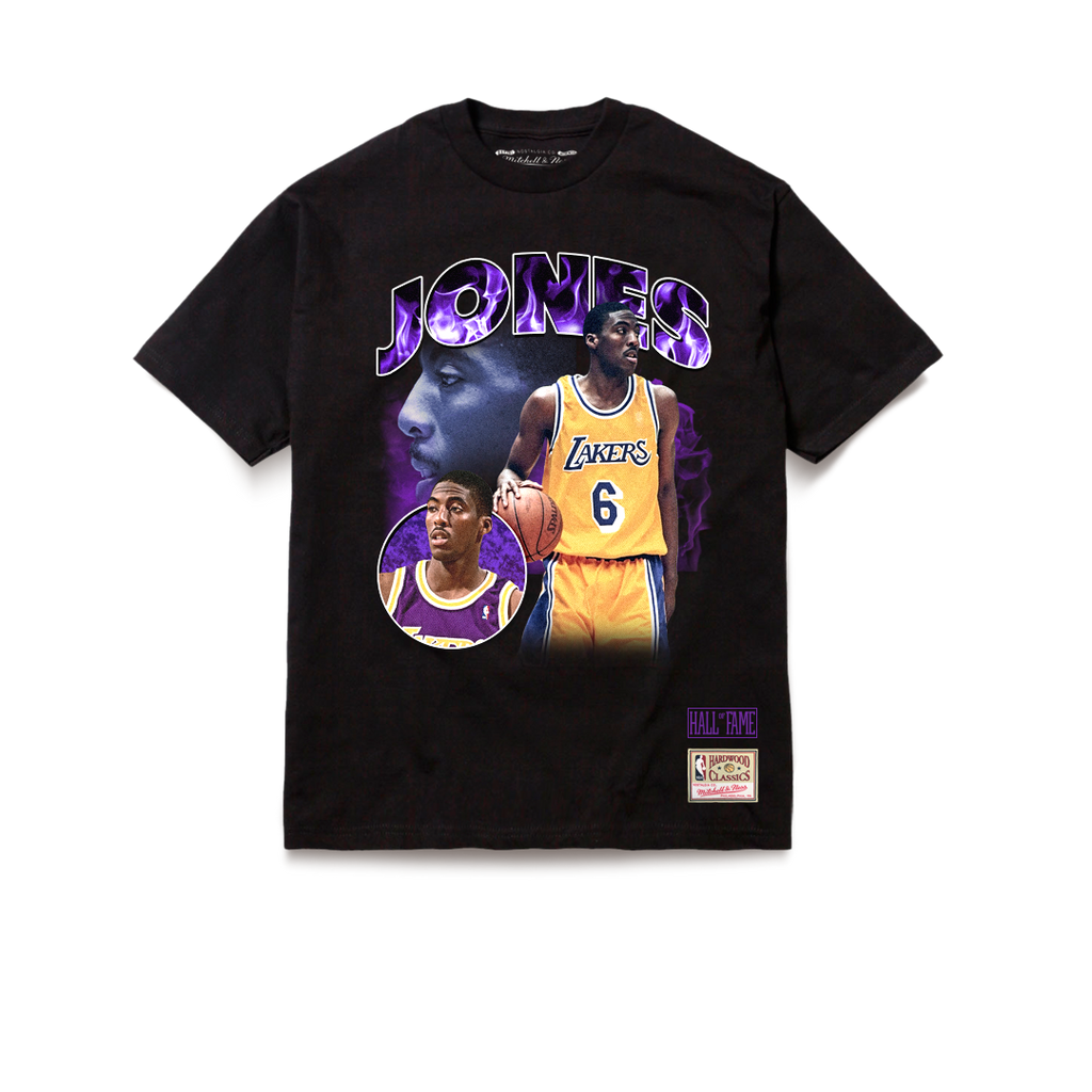 Los Angeles Lakers Tribute Eddie Jones T-Shirt Black