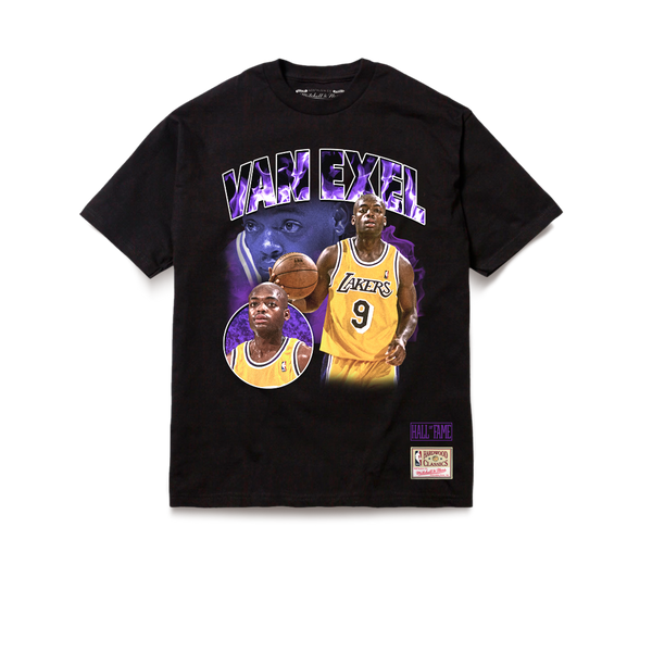 Los Angeles Lakers Tribute Nick Van Exel T-Shirt Black